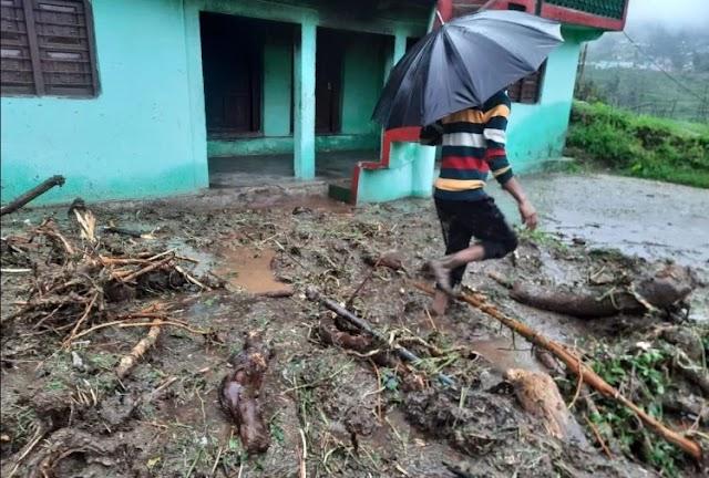उत्तराखंड समाचार: भिलंगना ब्लॉक के मेड गांव  में बादल फटने से हुआ नुकसान, पढ़े रपट ।