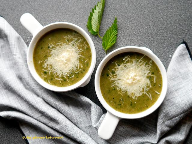 Zupa krem z pokrzywy i lubczyku - Czytaj więcej »