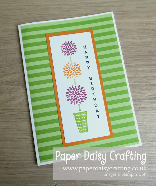 Vertical Greetings Stampin' Up