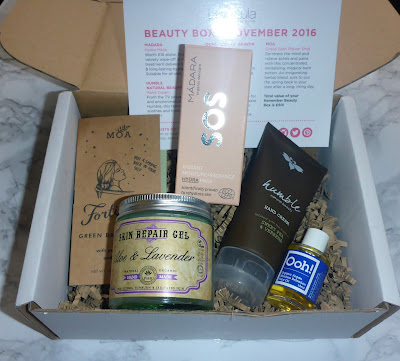 Love Lula Beauty Box - November 2016