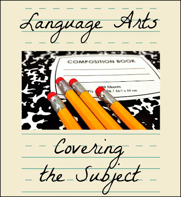 Language Arts - Covering the Subject on Homeschool Coffee Break @ kympossibleblog.blogspot.com - Join me at The Homeschool Post for the entire article hsbapost.com