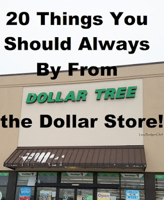20 Things I Always Buy From the Dollar Store, one of my favorites from last week!