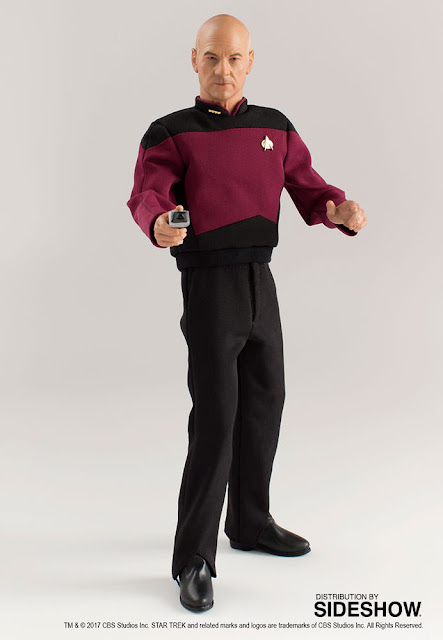 osw.zone Quantum Mechanix is proud to present the first sixth scale Master Series articulated figure of.  Quantum Mechanix 1 / 6. Scale Star Trek: The Next Generation Captain Jean-Luc Picard Figure