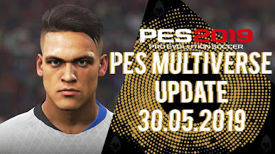 PES 2019 Multiverse 5.0 Option File DLC 6.0 Update 30/05/2019 by Rengo Patch