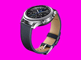 Samsung Gear S3 Classic Leather Band (Navy)