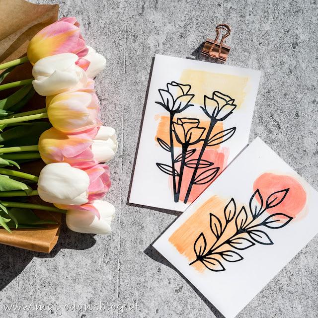 Geschenkideen für den Muttertag & DIY Watercolor-Grußkarten