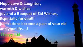 happy eid pictures message