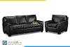 Mẫu ghế sofa da đẹp AmiA 20106 với hơn 200 màu đa dạng chọn lựa
