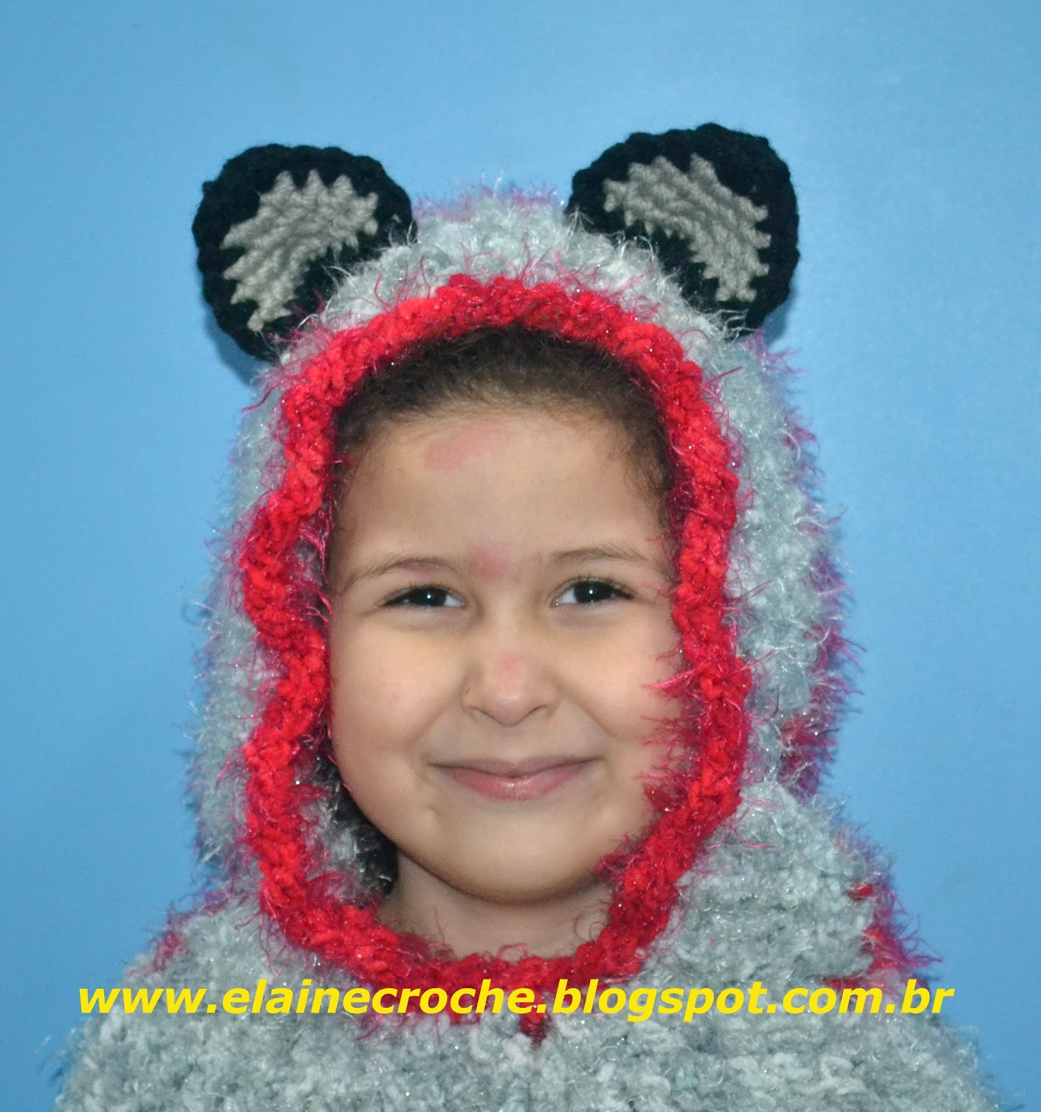 Touca Gola Gatinha em Crochê - Infantil ou Adulto - Vídeo Aula Crochê abe1baa4116