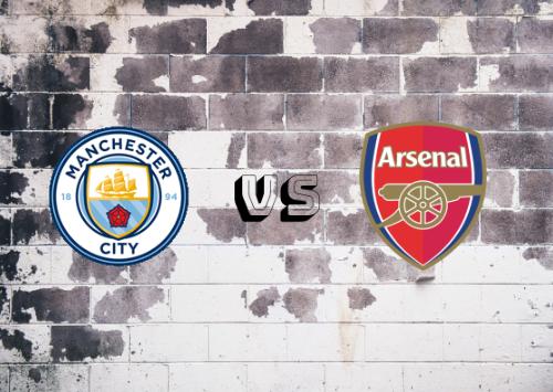 Manchester City vs Arsenal  Resumen y Partido Completo
