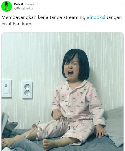 9 Meme Lucu 'Situs INDOXXI Ditutup' Ini Menyisakan Kenangan Buat Warganet