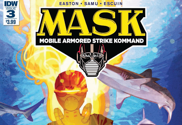 M.A.S.K. #3 Now Available In Comic Shops And Digital Download