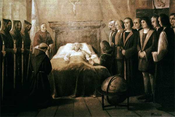 QUINTO VIAJE DE CRISTOBAL COLON - HISTORIA DEL PERÚ