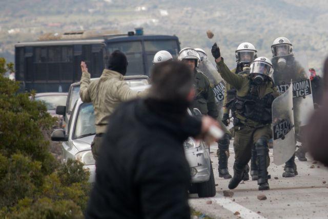 Έρευνα της ΕΛ.ΑΣ. για τα επεισόδια σε Λέσβο και Χίο