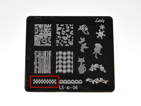 Lesly Plate: LS-06