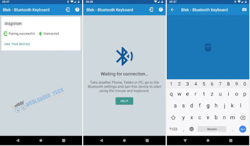 Download Serverless Bluetooth Keyboard / Mouse for PC / Phone Pro 2.9.0 Android