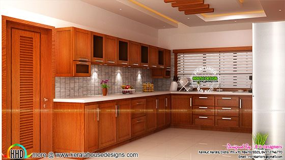 Modular kitchen interior Kerala