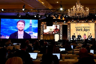 Updated: TCA Winter press tour: Daniel Radcliffe via satellite (Miracle Workers series 2)