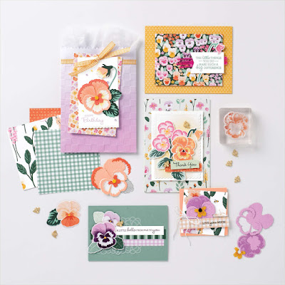 Stampin' Up! Pansy Petals Suite Collection ~ 2021-2022 Annual Catalog