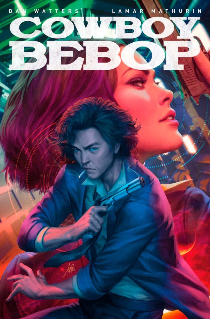 Cowboy Bebop Netflix comic - Dan Watters y Lamar Mathurin - Titan Comics