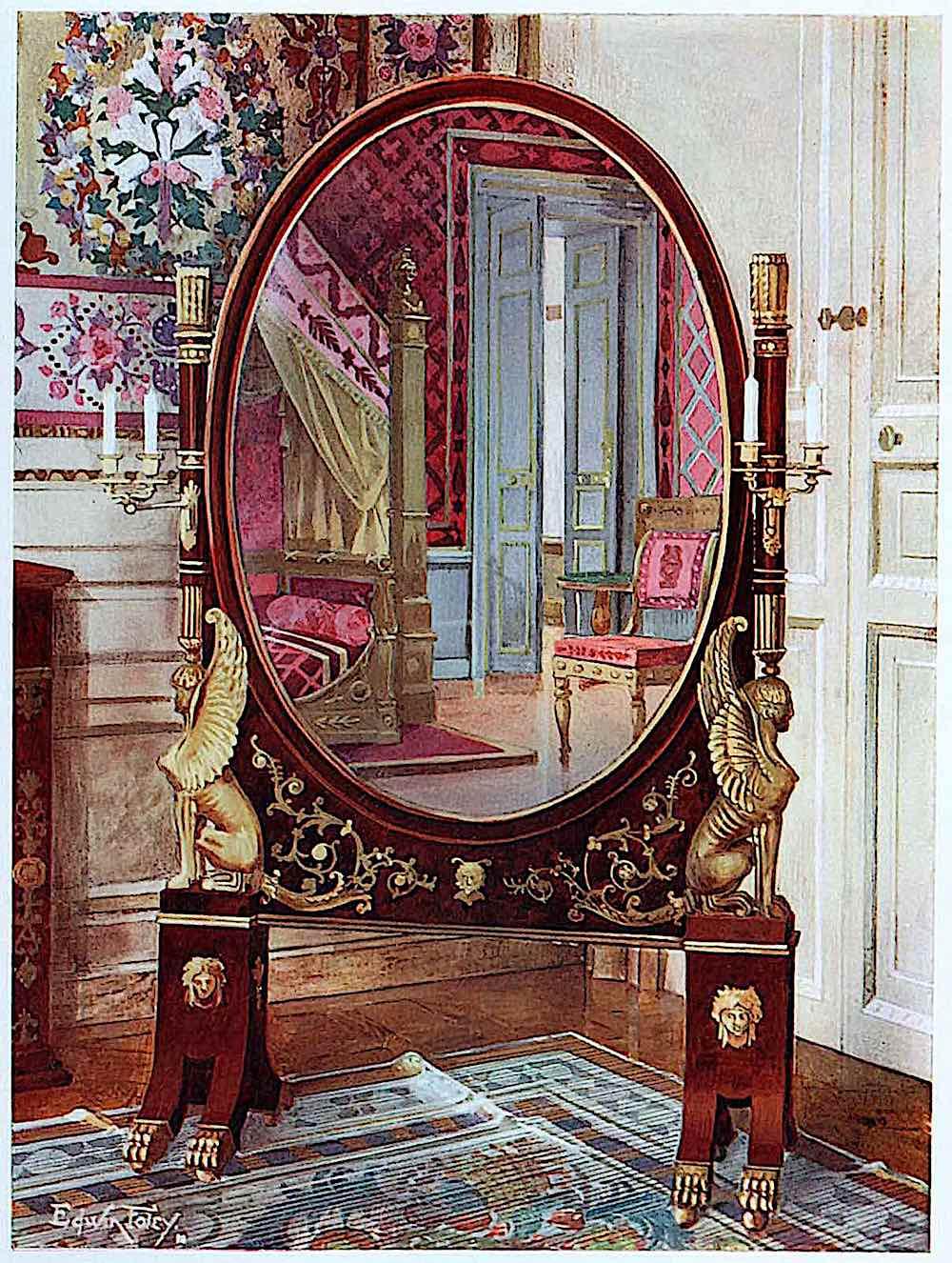 1810 empire mirror