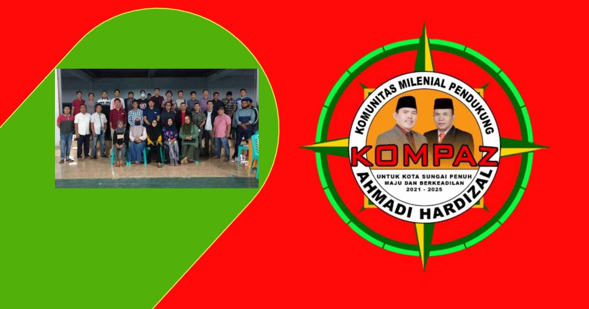 Tergabung Dalam Kompaz Millenial Satukan Tekad Menangkan Ahmadi Hardizal Di Pilwako Sungai Penuh Platform Berita Kerinciexpose Com