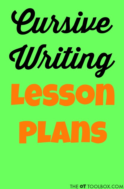 Use these cursive writing lesson plans for ideas on how to teach cursive writing to kids using creative cursive writing tips, handwriting activities, movement, and cursive writing ideas.