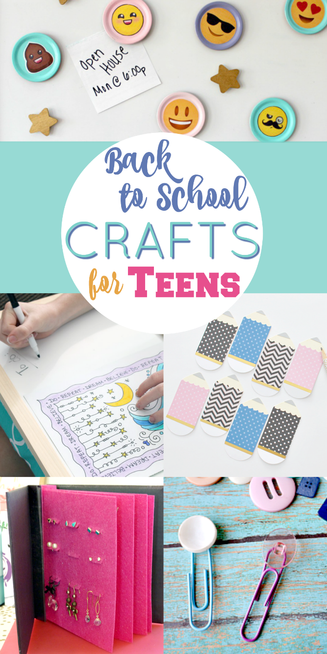 The Life Of Jennifer Dawn Back To School Crafts For Teen Girls