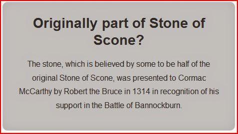 blarney stone part of stone of scone