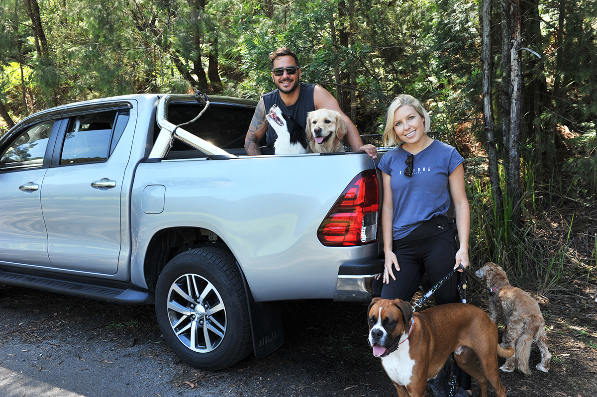 Barc for Pets - Hilux dual cab pick-up service for dog adventures
