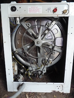 conversion of a broken washing machine