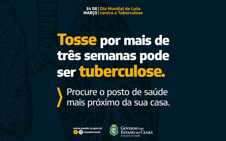 611b1dcd2 Semana de Prevenção à Tuberculose começa nesta sexta