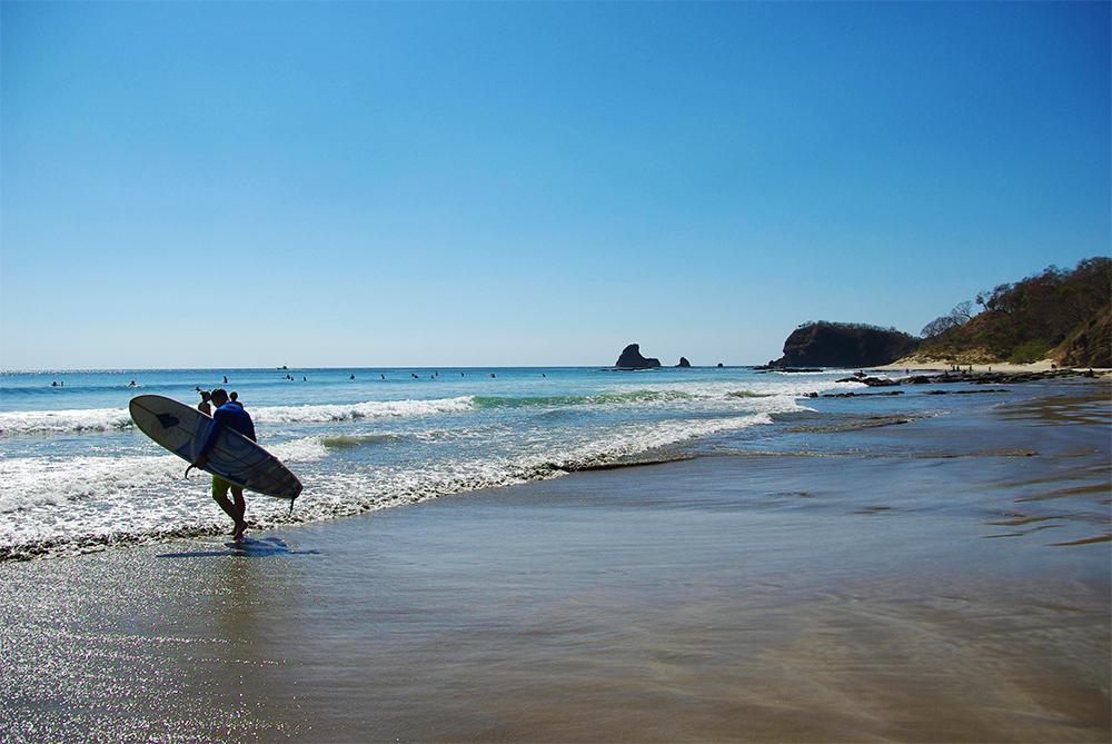 Surfing Maderas Beach Nicaragua