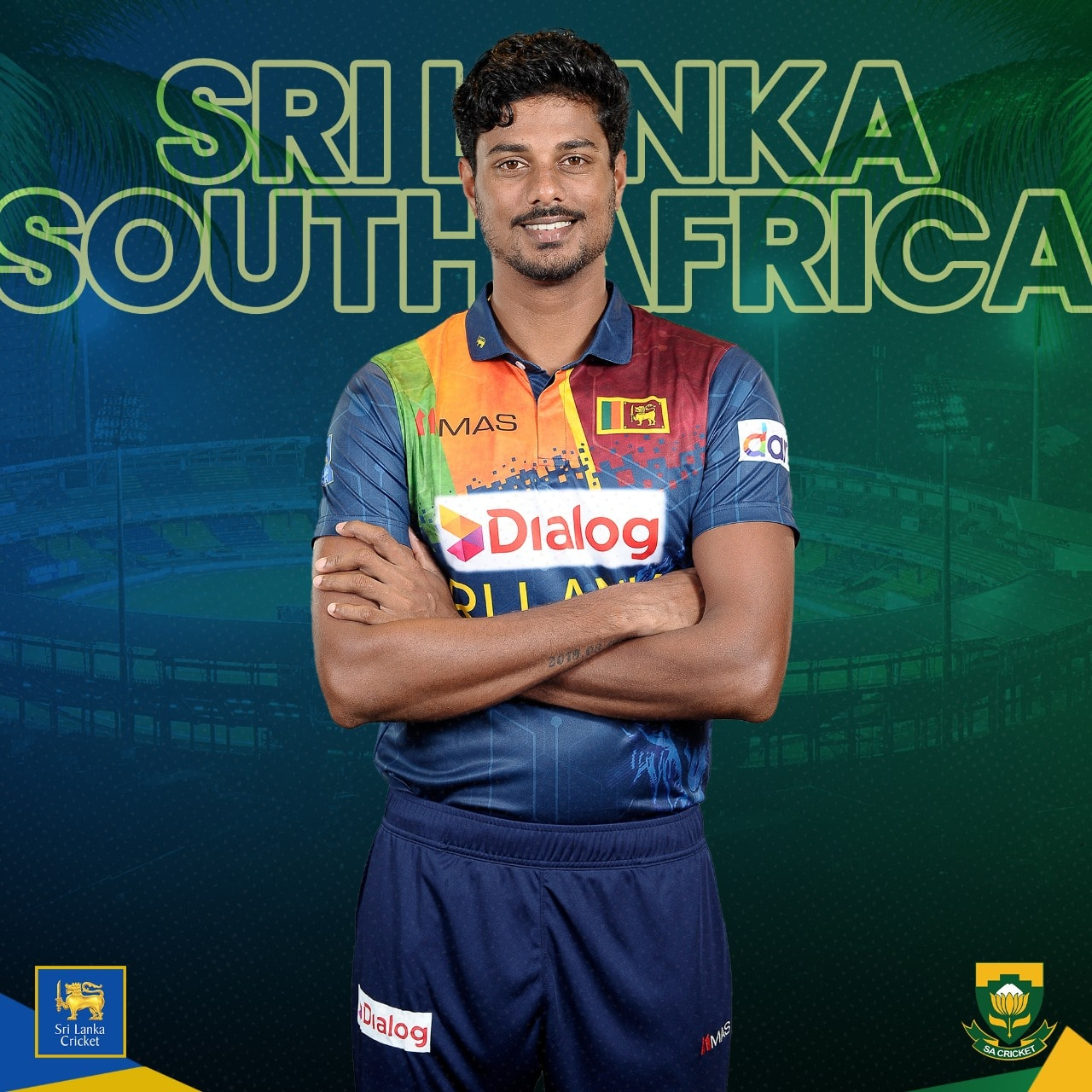 Here's Srilankan squad for the T20I series vs south Africa