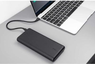 Aukey powerbank geschikt voor laptop
