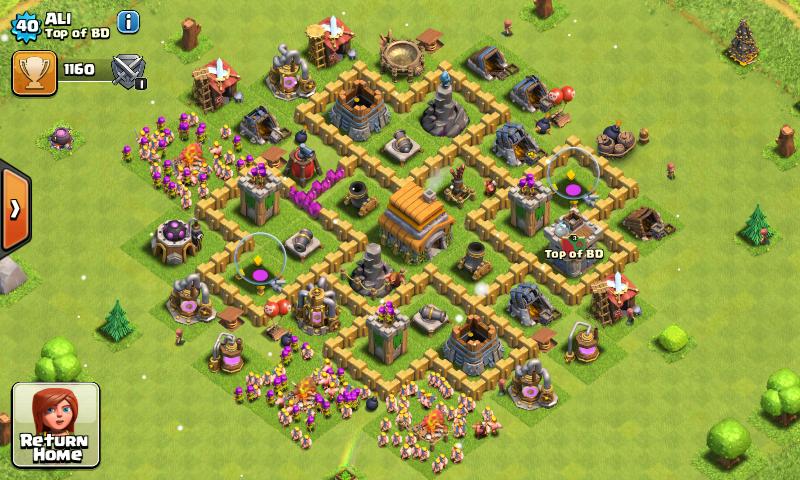 Kumpulan Base Coc Th 6 Terkuat 9