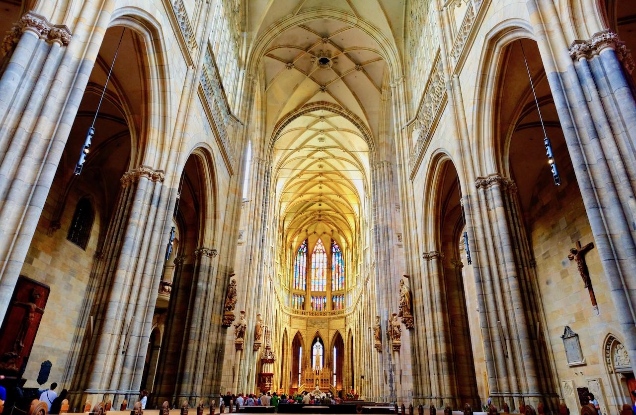 Church Interior, Prague Castle