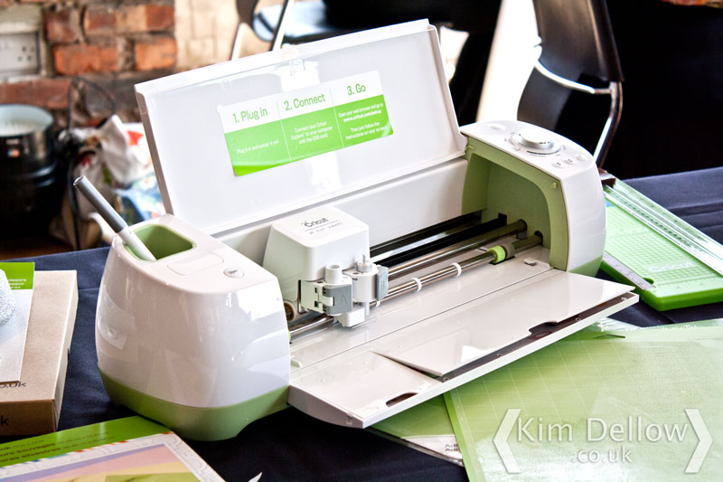 The cricut Explore machine