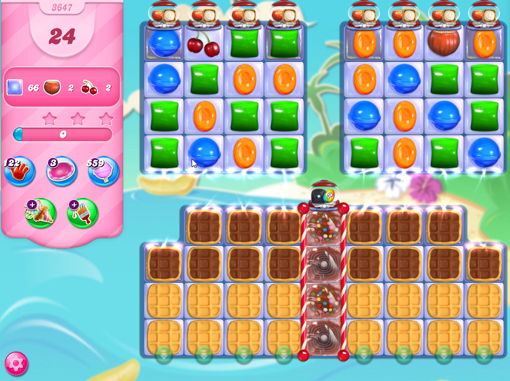 Candy Crush Saga level 3647
