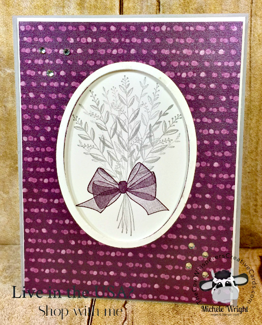 Card, Wishing You Well, Frosted Floral Designer Series Paper, Get Well