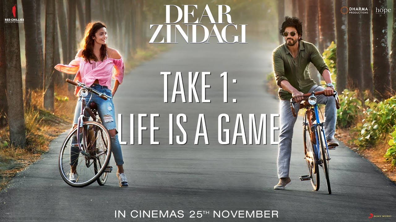 Love you Zindagi Free Download Official HD Video Song - Dear Zindagi (2016) Movie Songs