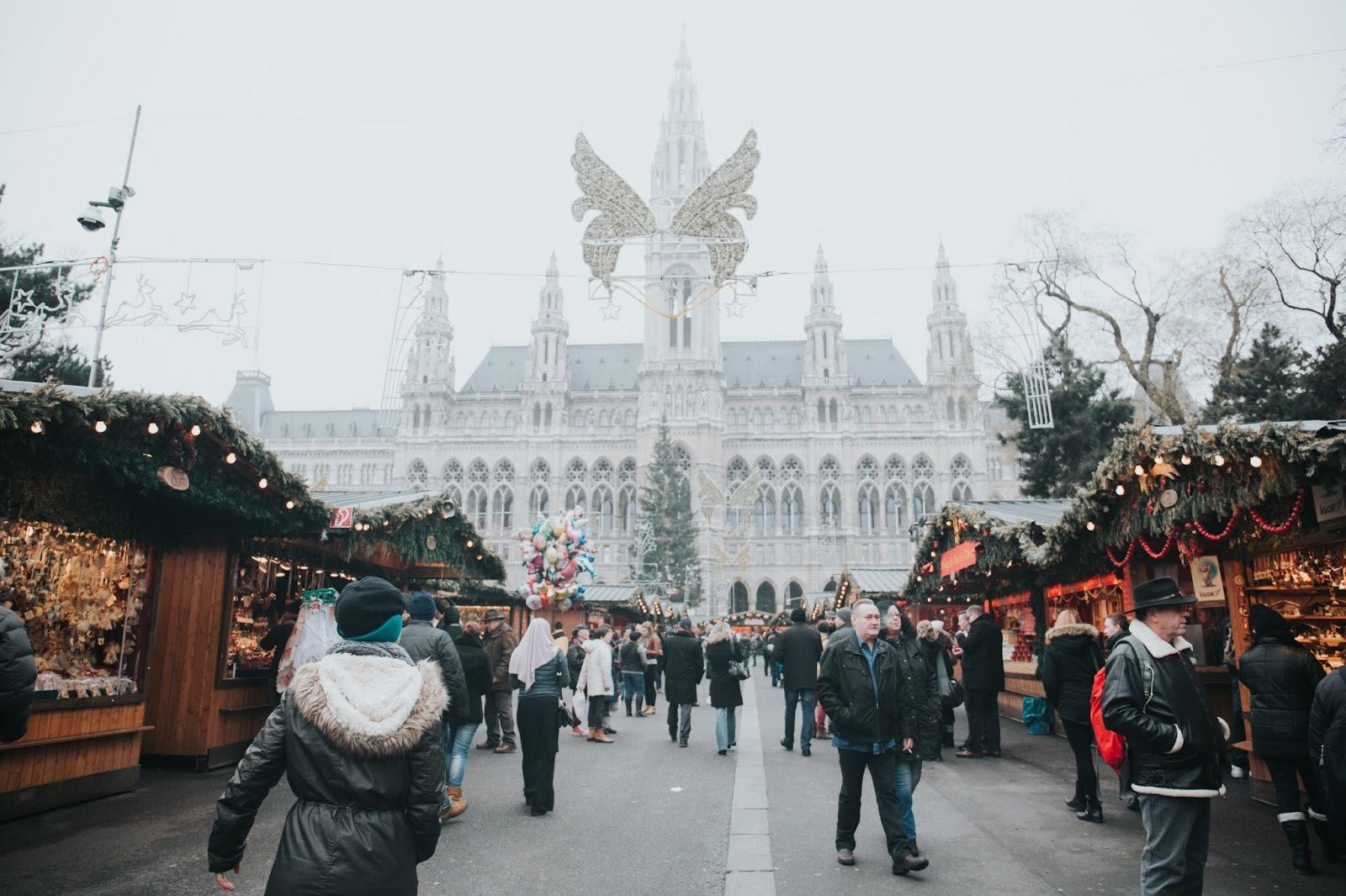 Viennese Christmas market, Vienna