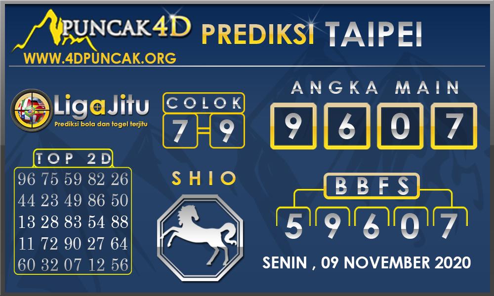 PREDIKSI TOGEL TAIPEI PUNCAK4D 09 NOVEMBER 2020
