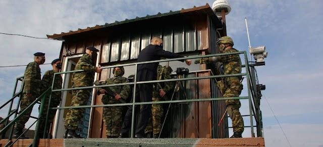 Επίσκεψη Στεφανή σε Μονάδες-Φυλάκια της 98 ΑΔΤΕ στη Λέσβο (ΦΩΤΟ)