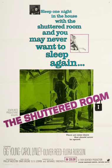 Poster - The Shuttered Room (1967)
