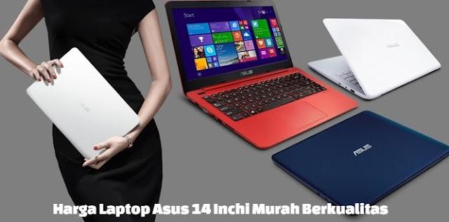 harga laptop asus 14 inch