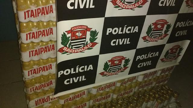 POLÍCIA CIVIL DE MIRACATU RECUPERA CARGA ROUBADA, APREENDE VEÍCULO, ARMA DE FOGO E PRENDE UM SUSPEITO