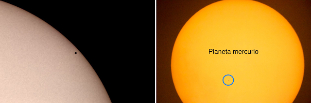 "The 2019 Mercury Transit imaged on an 8"" Schmidt-Cassegrain telescope with a Celestron Eclipsmart Solar Filter and a Canon 70D. Location was from the Costa Esmeralda Panama Republic of Panama. Images by Luis Velasquez."