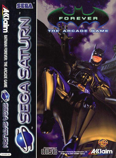 Batman Forever The Arcade Game  ISO Sega Saturn