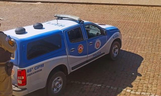 Homem é preso acusado de agredir esposa e filha de 2 anos em Paramirim